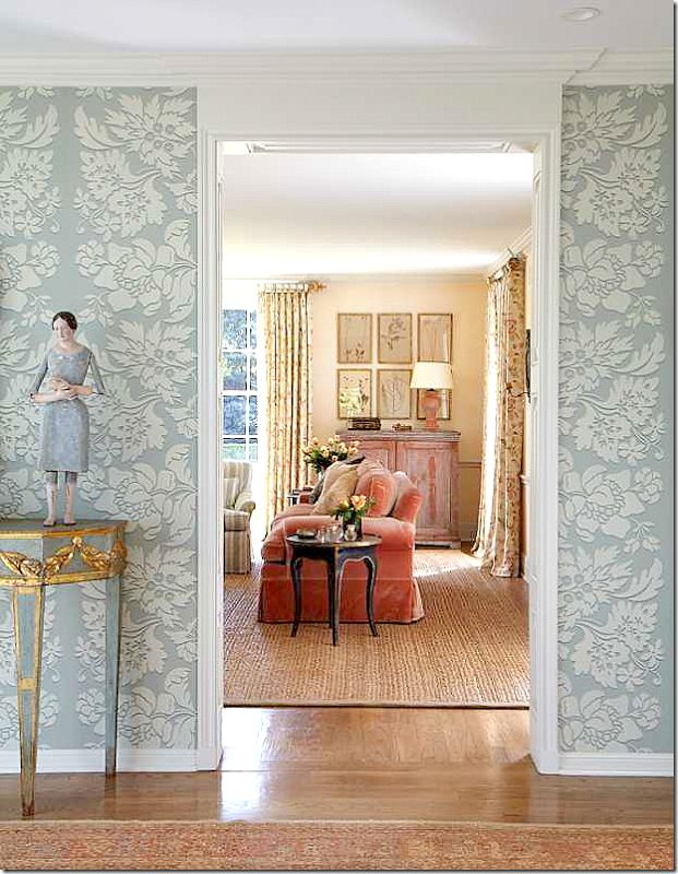 A House Decorated In The Swedish Style By Designers Katrin Cargill Interiors,  And Carol Glasser Interiors
