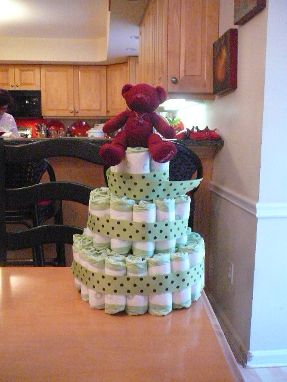 Baby Shower Ideas – How to Make a Diaper Cake [Tutorial] | Rock Bottom T-Shirts Blog
