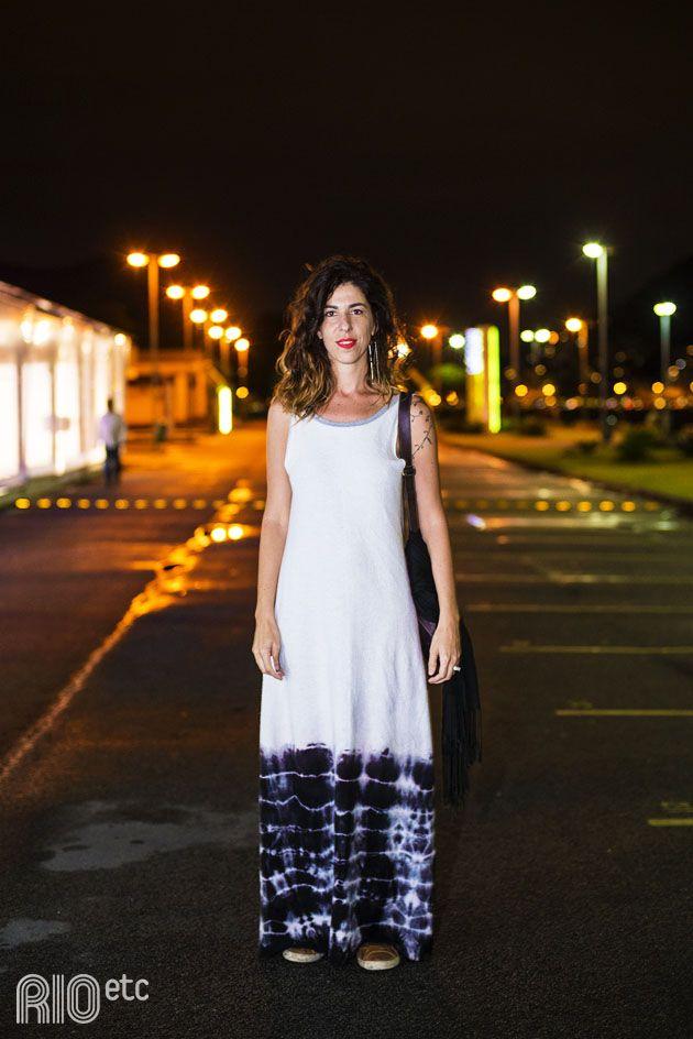 A Lis Haddad é designer de jóias e trabalha num espaço de co-working chamado The House que fica em Laranjeiras.