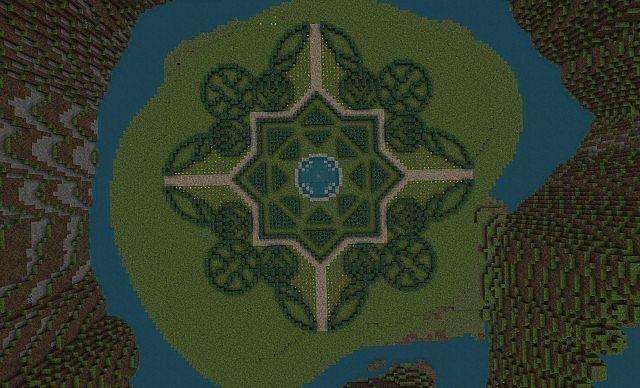 how to build a good minecraft garden