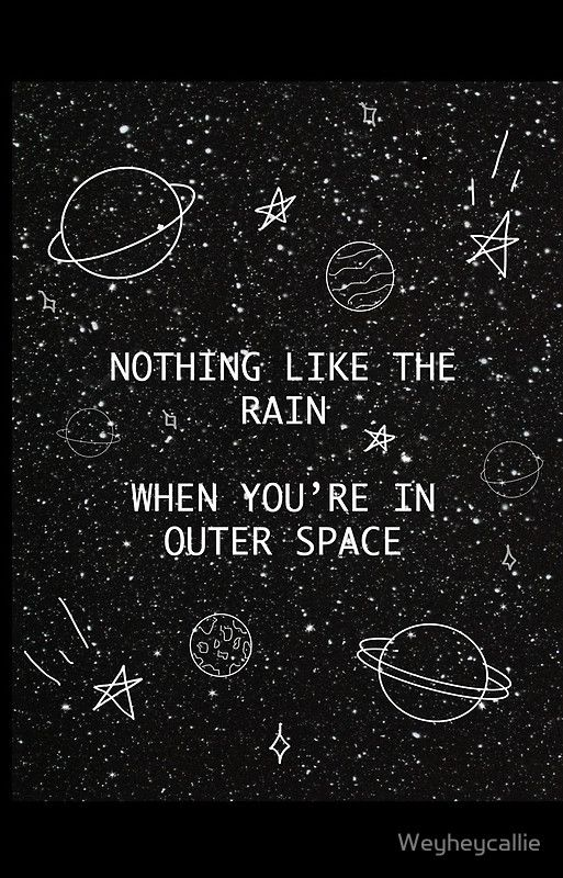 5SOS 5 Seconds of Summer Outer Space Lyric Doodle