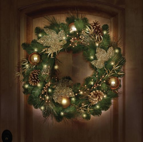 I absolutely love decorating during the holidays, the lights both indoor and out, tree, table runners, the perfect wreath upon our door and... the train running around the bottom of our tree. Not to mention creating a new holiday design for the mantel each year. #ad