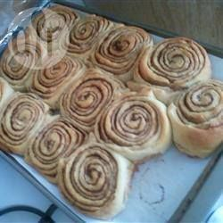 Foto recept: Deense kaneelbroodjes