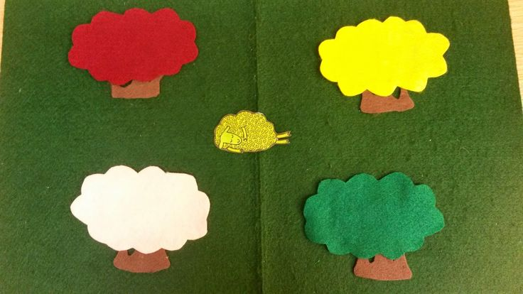 Where is the Green Sheep? - flannelboard guessing game