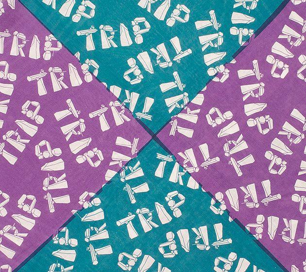 Trip Square Scarf / Scarve