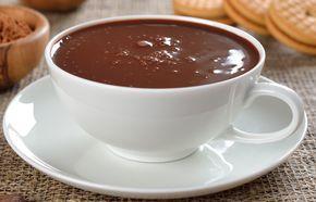 Chocolate quente cremoso FIT
