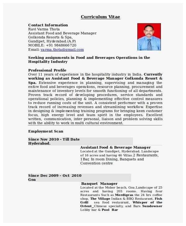 Restaurant Manager Resume Sample Admirable Restaurant In 2020 Restaurant Management Resume Examples Manager Resume