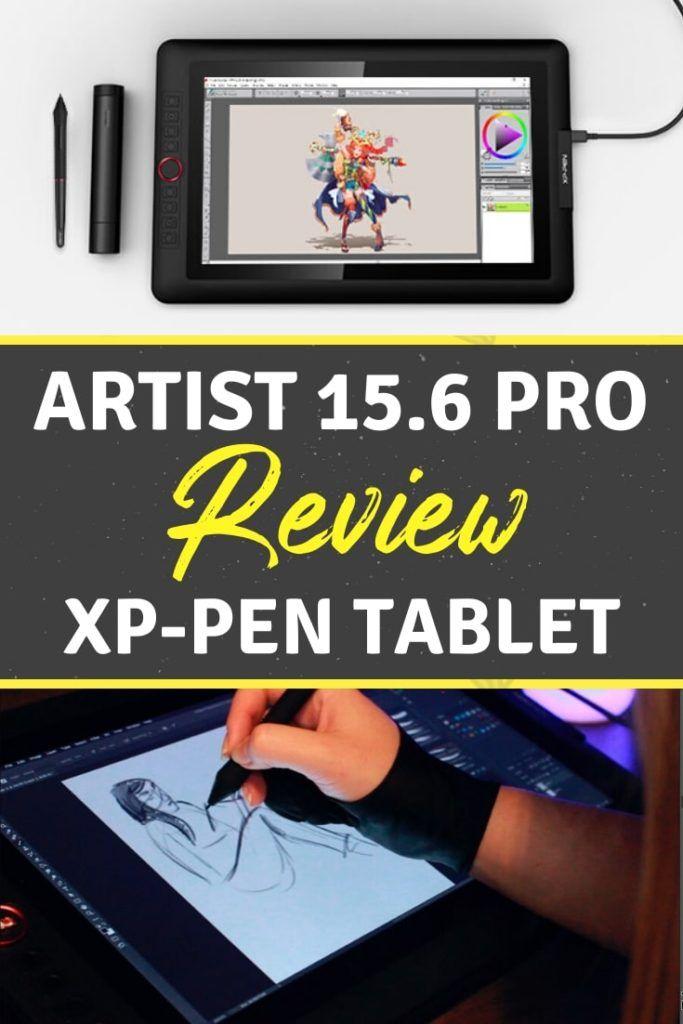 Xp Pen Artist 15 6 Pro Honest Review Unboxing Holiday Edition Art Tablet Art Supplies List Tablet