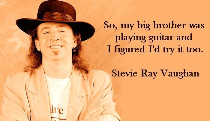 Stevie Ray Vaughn worked out well for the both of them, just wish stevie could have stuck around alittle longer.  miss him