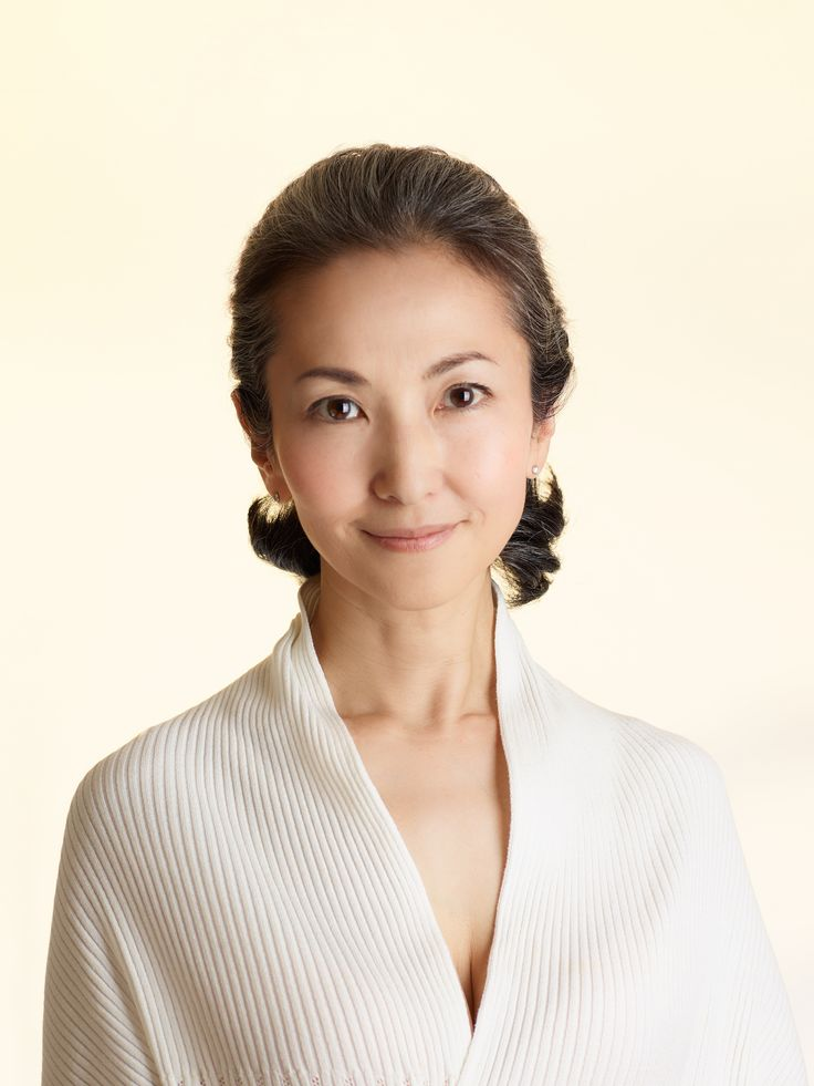 Mayuko Miyahara Over50's Style from Japan #Over50 #grey