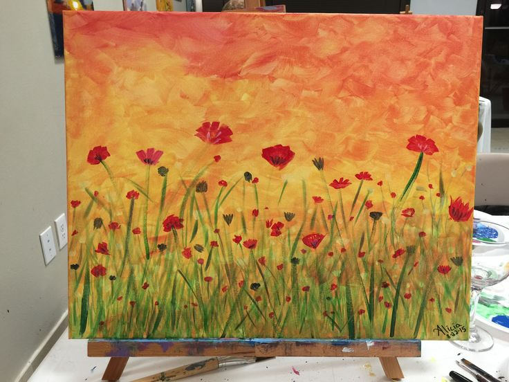 Acrylic painting ideas for beginners located in dallas for Watercolor painting for beginners step by step