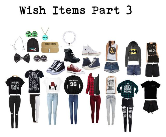 """""""Wish items part 3"""" by queen26yassy on Polyvore featuring Illustrated People, Topshop, Frame Denim, Sisley, LE3NO, Columbia, Cheap Monday, Glamorous, rag & bone and Ally Fashion"""