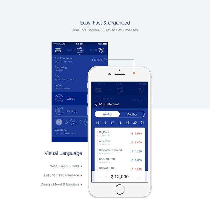 HDFC Bank App on Behance