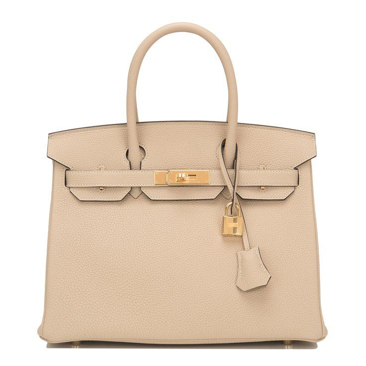 #Hermes #Birkin #Bag Trench Togo Gold Hardware