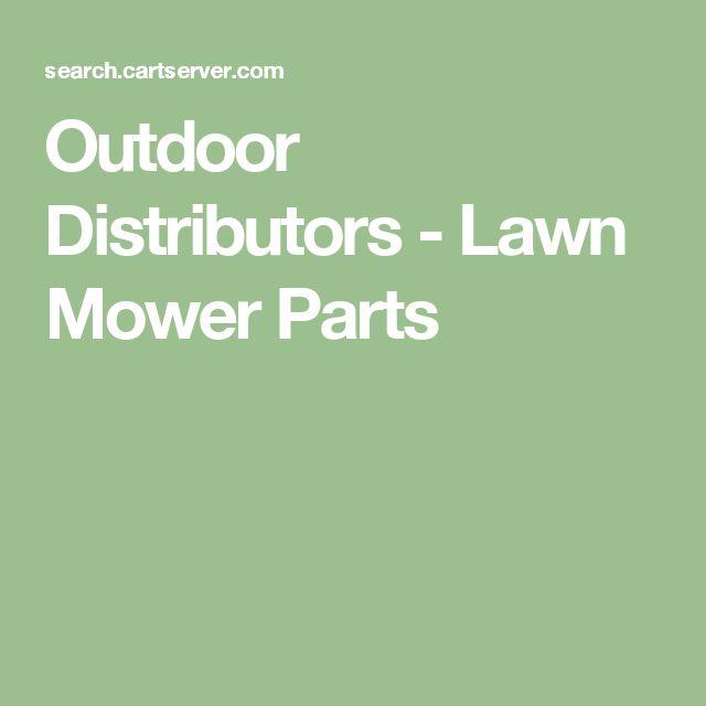 Outdoor Distributors - Lawn Mower Parts