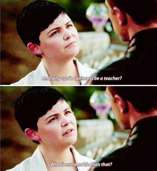 """Snow White and David - 6 * 3 """"The Other Shoe"""" #Snowing"""