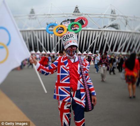 Go Olympics 2012, GO!  London, England.... all things union jack!