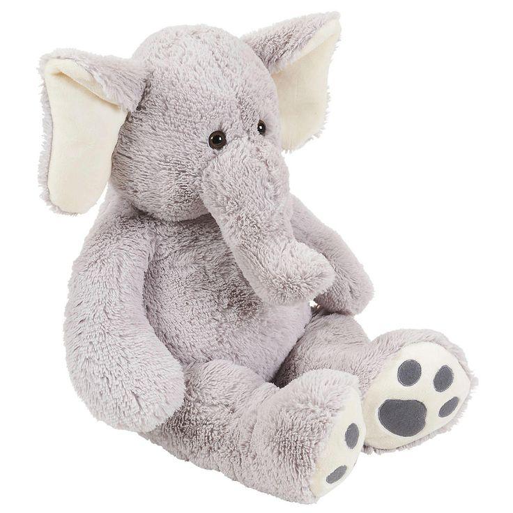 Toys R Us Plush 22 Inch Jumbo Elephant Gray Toys R Us