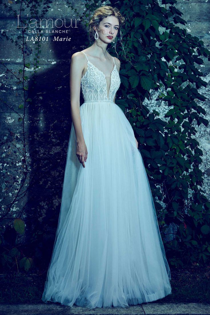 119 best whimsical wedding dresses images on Pinterest | Wedding ...