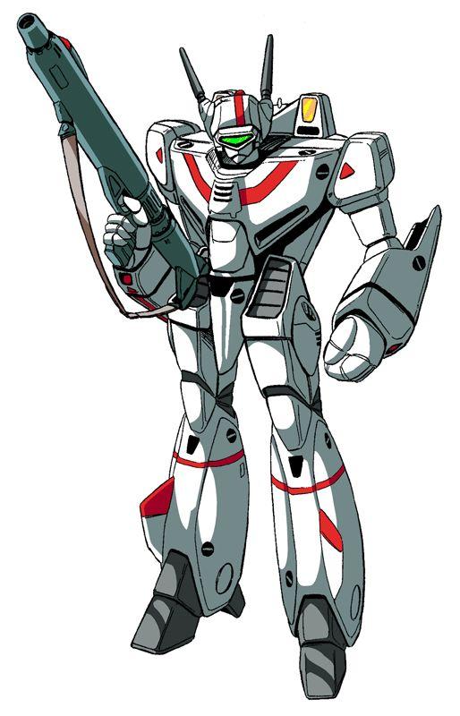 vf-1j-styled-battroid.gif (514×800) Robotech Macross Rick Hunter