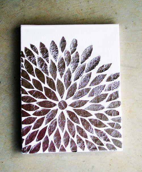 Best 20 aluminum foil art ideas on pinterest for Simple art projects