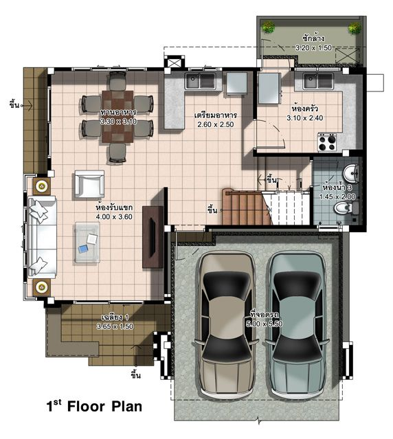 Two Design Choices Two Storey Home Plans Ulric Home House Plans One Storey House Duplex House Design