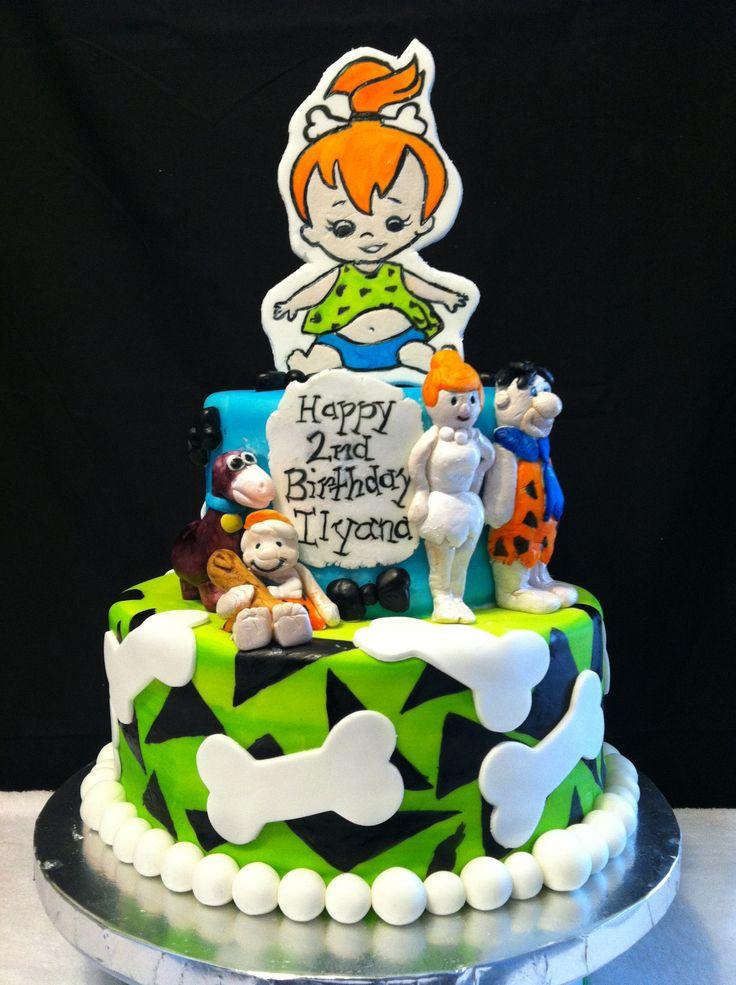 Flinstones Birthday Cake