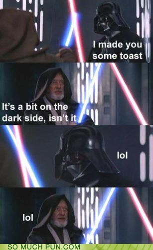 funny puns - I Can't Believe It's Not Midi-chlorians! @David Youd