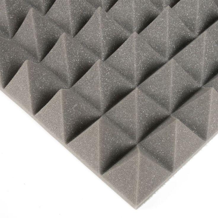 Espuma insonorizante. Espuma de poliéster insonorizante apropiada para aislar espacios acústicamente: ondulada o piramidal aquí la encontrarás en varios gruesos.