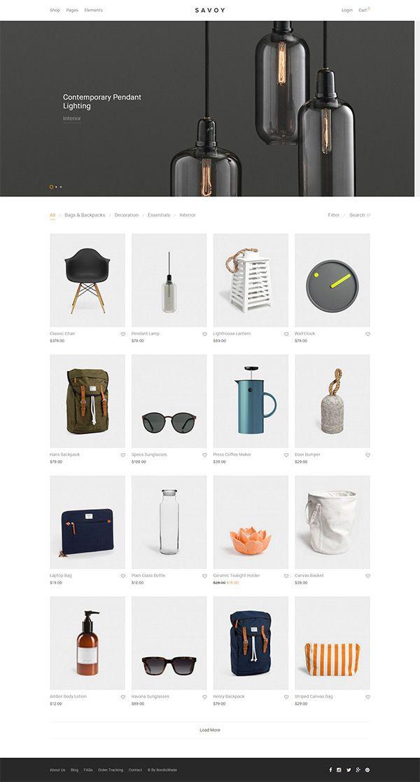 savoy-minimalist-ajax-woocommerce-theme