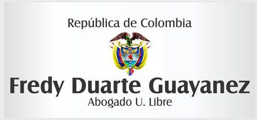 :: Amarillas en la Internet :: Colombia / Fredy Duarte Guayanez - Abogado