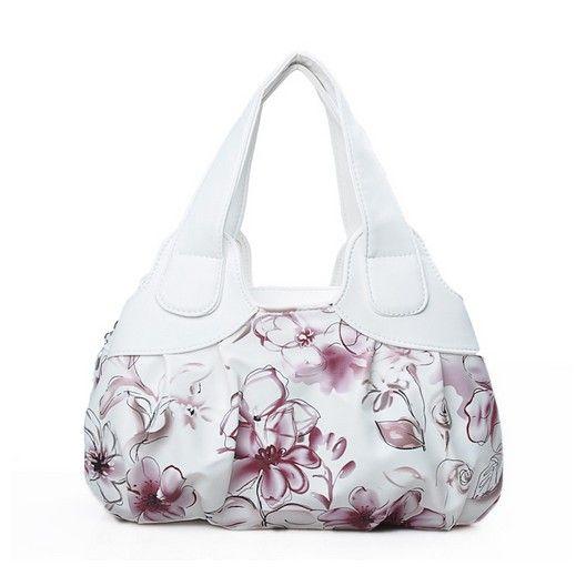 Gorgeous floral print bag