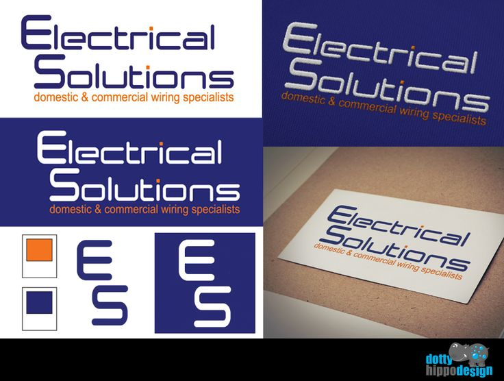 Logo design for local Electrical company