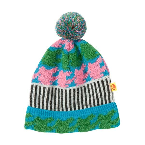 [럭키슈에뜨] Lucky Chouette Knit Beanie ❤ liked on Polyvore