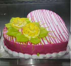 Send This Heart Throbbing, Mouth Watering, Delicious Strawberry Cake & Surprise Your Dear Ones Through our Shop2AP. Make your Dear Ones Day Special by Sending Delicious and Amazing Cakes. Choose to Include a Sentiment or Message Displayed on the Top to Impress your Dear ones. Send Cakes Online on Birthdays, Anniversary, Wedding Day or Valentine's Day to make the Special Events Magical. We Do Deliver at Midnights and Early Mornings.