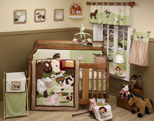Farm Babies 5 Piece Set by NoJo at BabyEarth.com, $169.95