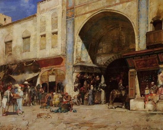An Arab marketplace