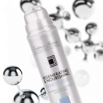 Regenerating & Nourishing Hand Cream. Price: £11.99 Code:  KR2 Collection: β-Glucan Active.    To purchase this product visit http://www.membersfm.com/Michelle-Brandon Capacity: 50ml Created to answer the needs of over-dried, very damaged skin of hands exposed to activity of external factors. Intensely nourishes and smoothes the skin of hands and improves the condition of nails giving them a healthy and well-groomed look.