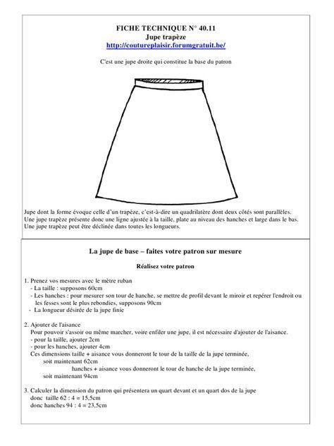 Page 1/16 jupe trapèze