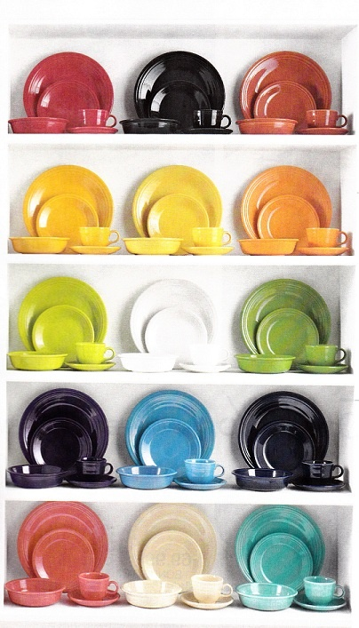 Fiestaware Dishes ... Color color color!!