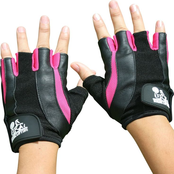 Women Weight Lifting Gloves Sport Fitness Gym Crossfit Training Medium Pink New   Sporting Goods, Fitness, Running & Yoga, Strength Training   eBay!
