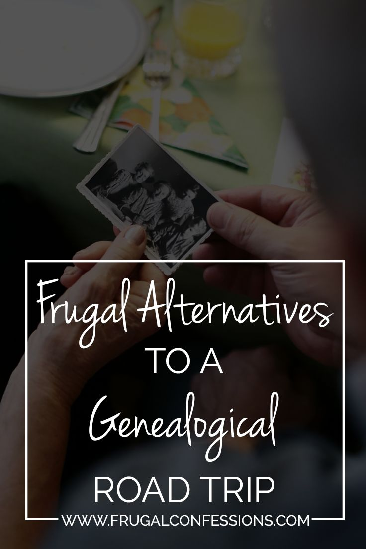 Tips for free ancestry search. Many inexpensive & free resources are available in our genealogical pursuits that don't require travel or huge expenses.| http://www.frugalconfessions.com/frugal-genealogy/genealogy-frugal-alternative-to-a-genealogical-road-trip.php