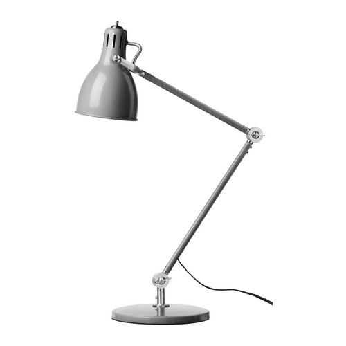 ARÖD Work lamp IKEA You can easily direct the light where you want it because the lamp arm and head are adjustable.