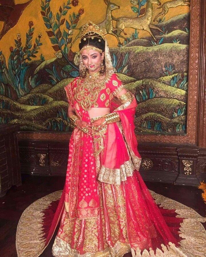 Sita in her bridal attire