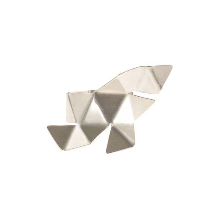ORIGAMI / RING / SILVER