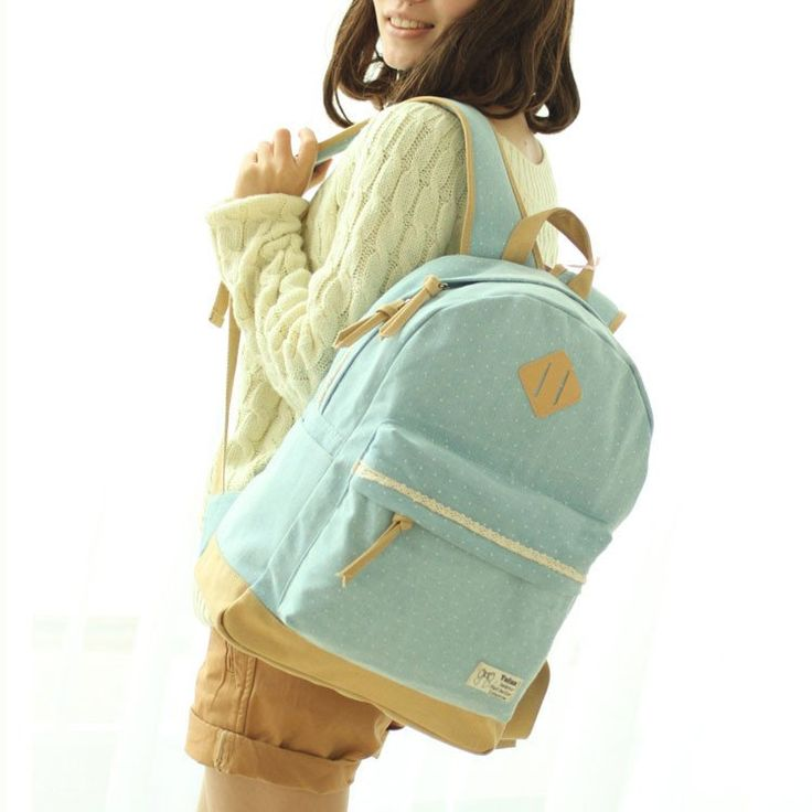 Latest Trunk Dot Lace Backpack