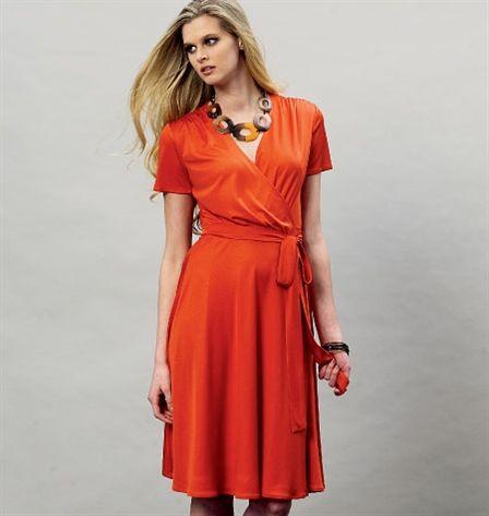 Patron de robe - Vogue 8896 44-46-48-50-52 (F5)