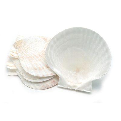 Fox Run Craftsmen 4770 Bakeware Nantucket Seafood Natural Baking Shell (Set of 4)