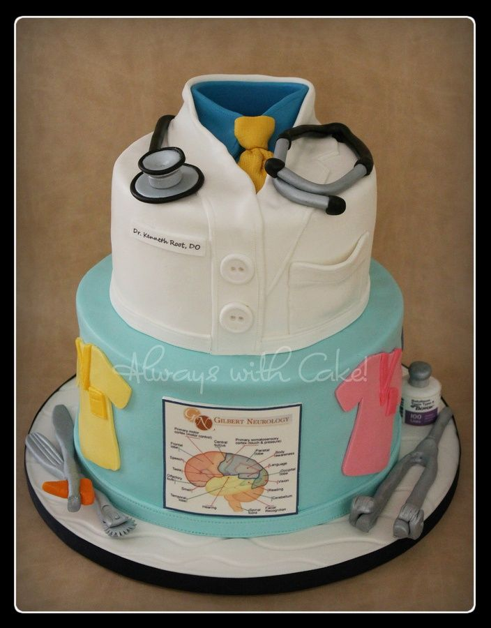 a cake for a medical doctor bday or graduation... great ...