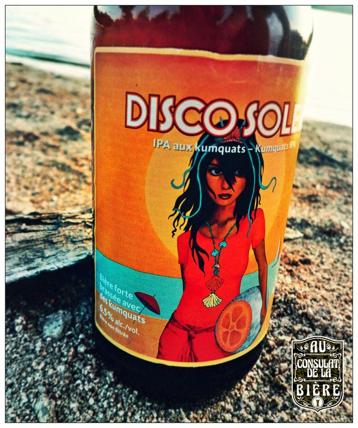 La Disco soleil de Dieu du Ciel, une belle IPA aux Kumquats, Au Consulat de la Bière.